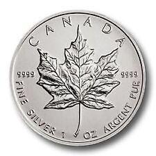 Lingotti e monete d'argento, dal Canada