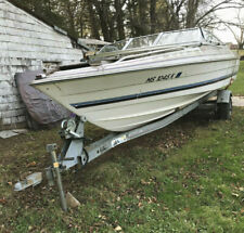 1984 Bayliner Open Bow Force Outboard Trailer Granby, MA | No Fees & No Reserve