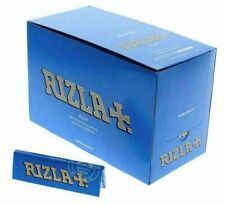 RIZLA BLUE REGULAR SIZE ROLLING PAPER 25 / 50 / 100 PACKS THIN STANDARD PAPERS