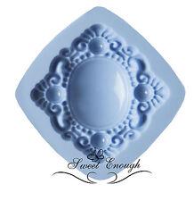 Sugarcraft Mould Sets Jewel Heart Vintage Buttons cake cupcake decorating large