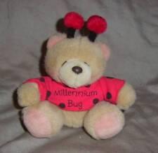"HALLMARK FOREVER FRIENDS  ""MILLENNIUM BUG "" TEDDY BEAR , VERY CUTE (#B50-25)"
