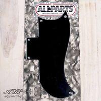 Plaque Pickguard pour Gibson SG Half Face Noire Black 3ply 2xHumb 5h PG9801-033