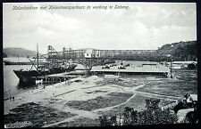 DUTCH EAST INDIES~Indonesia~1900's SABANG ~LOADING COAL ONTO SHIP ~ COAL MINE ~
