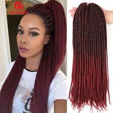 22'' Ombre Kanekalon Small Senegalese Twist Hair Crochet Braid Hair Extensions