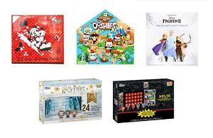 Advent Calendar - Funko Pop Harry Potter, Marvel, Mickey Mouse, Frozen, Snowman