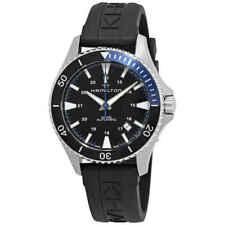 Hamilton Khaki Navy Scuba Automatic Black Dial Batman Bezel Men's Watch