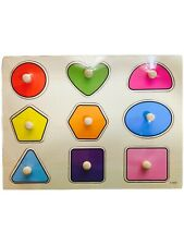 Kids Wooden Puzzle Board Educational Jigsaw Montessori Learning Toys