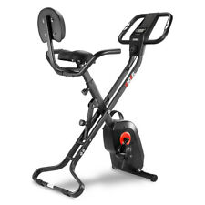 8-Level Exercise Bicycle Indoor Bike Cycling Cardio Foldable Gym Workout Fitness