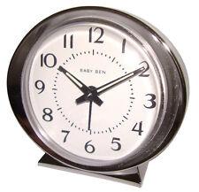 Westclox Baby Ben Analog White Face Alarm Clock, 11611QA