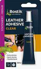 Bostik bostick leather belts handbags shoes adhesive glue 20ml new 381513