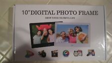 10 inch Digital Photo Frame HD Display Picture-Music-Video-Calendar/Time Player