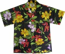 Floral Button-Front Casual Shirts for Men