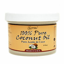 BMB 100% Pure Coconut Oil for Hair and Skin Puro Aceite De Coco 8 oz