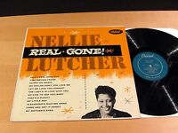 NELLIE LUTCHER Real Gone! CAPITOL T-232 Turquoise Original