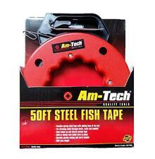 50 Ft (environ 15.24 m) Steel poisson Bande dessiner Fil Traction Câble 15 m Fil Accès poignée de transport AM-Tec