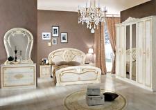 Camera da letto matrimoniale completa moderna modello Crystal Beige
