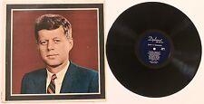 JOHN FITZGERALD KENNEDY LP - A Memorial Album - Diplomat
