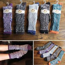 5 Pairs/Lot New Women Winter Autumn Thick Cotton Blend Knit Piles Boot Socks