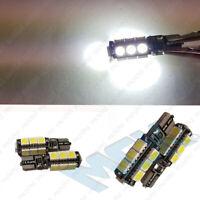 2 x NO ERROR FREE CANBUS W5W T10 501 LED SIDE LIGHT BULB 13 SMD - Xenon White
