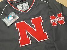 New with Tag Nebraska Cornhuskers Colosseum Athletics Lined Windbreaker LARGE L