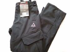 NWT Mens GERRY Water Resistant 4-Way Stretch BLACK Snow Board/Ski Pants Sz-SMALL