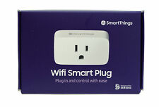 Samsung SmartThings App/Voice Controlled Wi-Fi Smart Plug w/ Alexa & Google