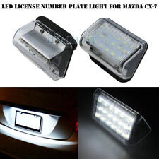 2Pcs LED 18smd For Mazda 6 Cx7 License Plate Lighting Number Plate Can-Bus 6000k
