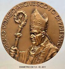 "Paolo Romeo Arcivescovo Palermo Giubileo Episcopale 2009 med opus Ventura ""4011"""
