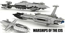 20,000-pc,4-foot-long LEGO-comp Star Wars CIS Warships (STARTER KIT ONLY)