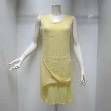 DEHA abito donna senza maniche mod.D15683 col.GIALLINO tg.XL estate 2015