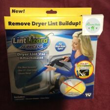 Lint Lizard Dryer Vent Lint VAC Vacuum Removal Attachment Clean - As Seen on TV