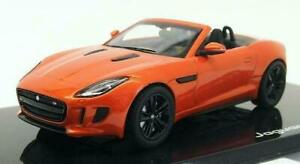 JAGUAR F-TYPE - V8 S CONVERTIBLE IN FIRESAND 1:43 SCALE