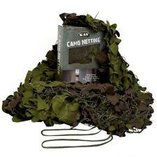 ARMY CAMO NET 2.2m x 1.5m MESH BACKING CAMOUFLAGE NETTING HUNTING SNIPER HIDE