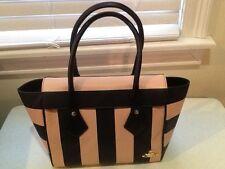 Vivienne Westwood Santa Monica Q46-Peach PVC Tote Handbag Model 6745V NWT