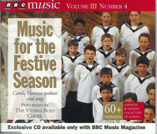 BBC Music Vienna Boys Choir MUSIC FOR THE FESTIVE SEASON  CD Volume III  # 4