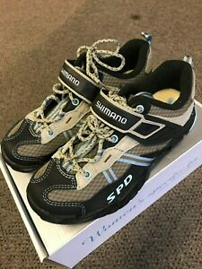 NEW Shimano SH-WM41 Women's MTB BMX Cycling Shoes Size 36 (US 5)