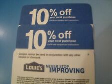 (5X) home depot 10% OFF exp 6/15/21 NOT 4 LowesCOUPON ONLY WORKS @ COMPETITOR