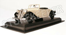 Citroen Traction Roadster - France 1929 - 1/43 (No7)