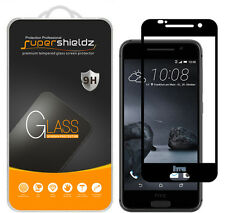 Supershieldz HTC One A9 Full Cover Tempered Glass Screen Protector (Black)