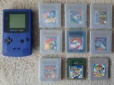 Nintendo Game Boy Color - Lila + 9 Spiele