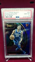 2017 Panini Select Markelle Fultz Blue #/299 Prizm RC  PSA 10 Gem Mint