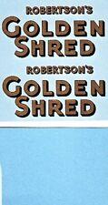 Dinky 919 GUY VAN Golden Shred | Gold Lettering Full Set | Waterslide Transfer