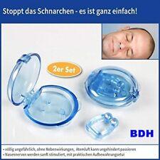 Schnarch Stopper mit Magnet 2er Set Nasenclip Schnarchen Schnarchstopper in Box