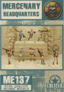 Dust 1947 Mercenary Headquarters Primed Edition Squad ME137 Mercs
