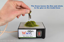 WWS Pro Grass Box - Model Basing, Static Grass Tufts Static Grass Applicator