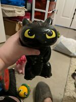 TOOTHLESS Bank From How To Train Your Dragon Black Ceramic Coin collector 2015