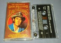 DON WILLIAMS THE VERY BEST OF DON WILLIAMS cassette tape album T8942