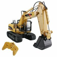 Fisca Rc Truck 6 Ch 24G Alloy Remote Control Dump Truck Excavator