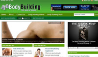 Body Building Popular Niche Turnkey Affiliate Site Free Installation + Hosting