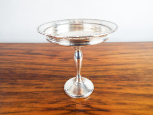 Antique American Sterling Silver Weighted Holloware Tazza M Fred Hirsch Co 1920s